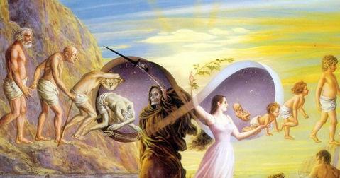 Entre Vida y la eternidad, ¿Purgatorio? ¿Reencarnación?